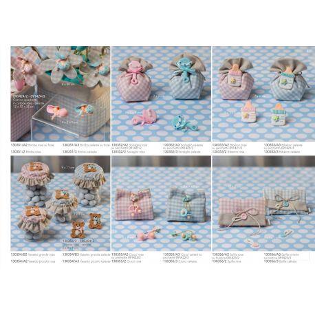 Ciucci con fiorellino linea Sweet Baby (130355)