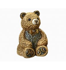 F202G TEDDY BEAR VERDE 7X9 CM (D1985)