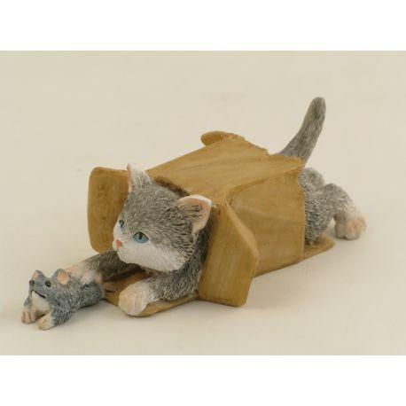 CAT IN THE BOX GIOCHERELLONE *SK*12 (D3585)