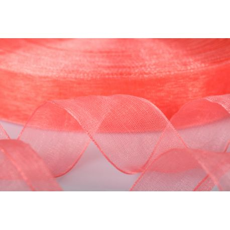 ORGANZA 10MM-100MT CORALLO *36-6 (GB1022)