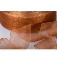 ORGANZA 10MM-100MT TORTORA *36-6 (GB1003)