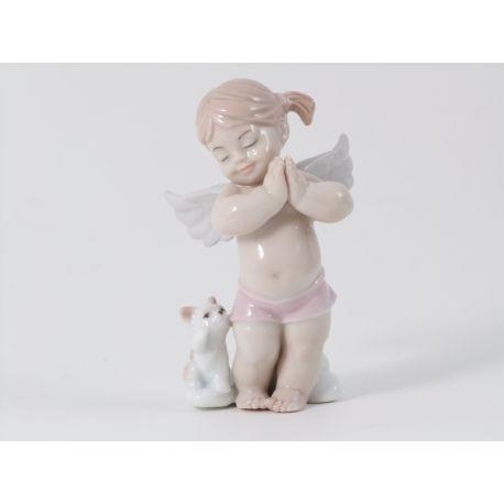ANGELO FEMM PIEDI E GATTINO (D7432)